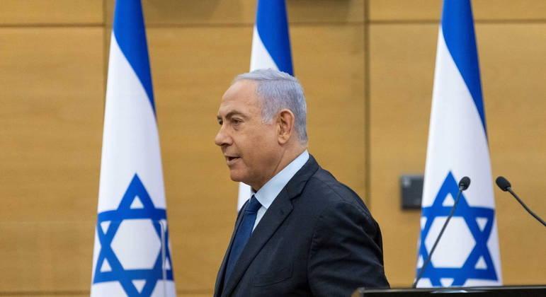 Netanyahu está sendo julgado por três acusações, incluindo suspeitas de corrupção