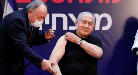 Netanyahu toma a primeira dose da vacina em 19 de dezembro