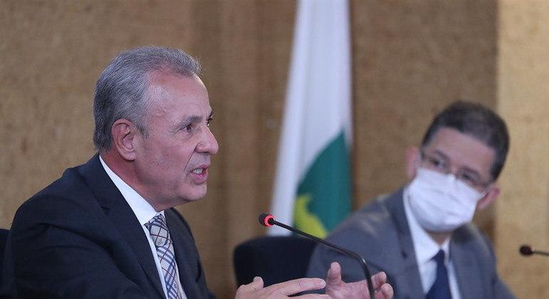 """O Ministro de Minas e Energia, Bento Albuquerque: """"cenários indicam que oferta será suficiente""""."""