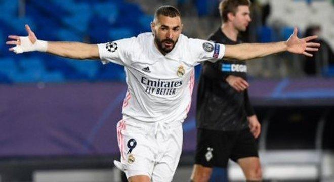 "Benzema, agora 69 tentos na ""Champions"""