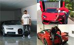 Um dos grandes centroavantes da Europa, Benzema gosta de carros luxuosos e ostentação. Nas redes sociais, o francês do Real Madrid mostra algumas máquinas que costuma a dirigir. Confira os automóveis que o craque guarda na garagem e chegam custar mais de R$ 1 milhão