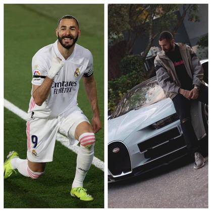 Além de colecionar gols, Karim Benzema possuí um grande acervo de carros em sua garagem. Os automóveis do jogador do Real Madrid estão avaliados em mais deR$ 42 milhões