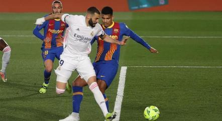 Real e Barcelona correm atrás da liderança