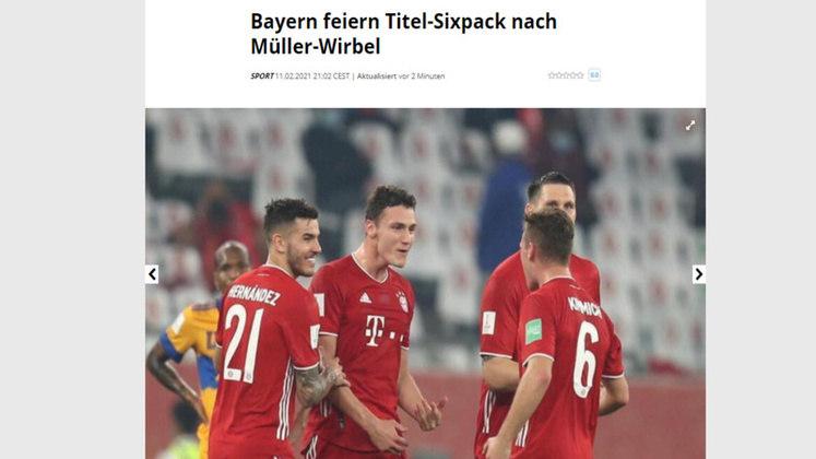 Berchtesgadener Anzeiger - O jornal Alemão vibrou com o sexto título da temporada do Bayern de Munique.