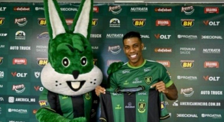 Berrio assinou contrato com o Coelho até o  fim da temporada