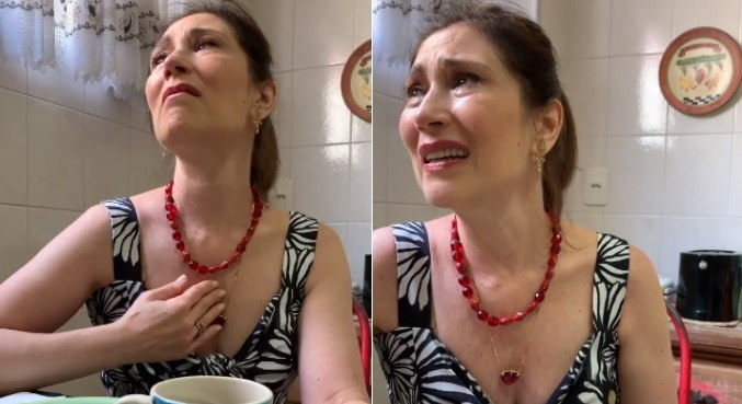 Emoção tomou conta de Beth Goulart ao falar da mãe em vídeo no Instagram
