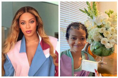 Cantora surpreendeu fã com flores e cartão