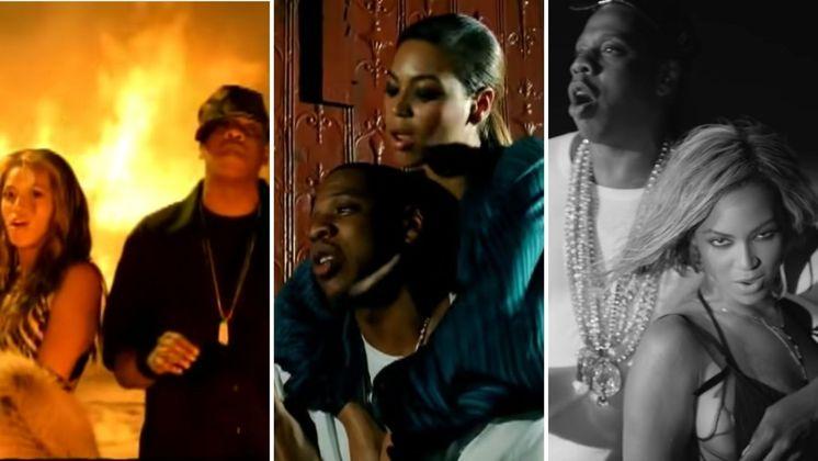 Casados desde 2008 e com carreiras consolidadas, Beyoncé e Jay-Z já trabalharam juntos diversas vezes. O primeiro clipe em parceria foi de Crazy in Love, os cantores ainda não estavam oficialmente juntos mas a música é um marco na carreira dos dois. Deja Vu é a segunda participação do rapper em um álbum rainha do pop, quando eles já tinham assumido o relacionamento. A última colaboração foi em 2013, no singleDrunk in Love