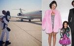 Beyoncé e Jay-Z formam um dos casais mais ricos do mundo dos famosos. Não à toa, eles costumam caprichar nos presentes. A cantora teria presenteado o marido em 2015 com um jatinho particular avaliado em US$ 40 milhões, o equivalente a R$ 210 milhões. Os filhos deles também recebem presentes bem luxuosos. Blue Ivy, primogênita da família, tem uma boneca com roupas cravejadas de diamantes que teria custado R$ 320 mil para ser feita