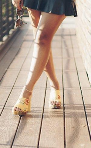Cuida também da moda dos pés