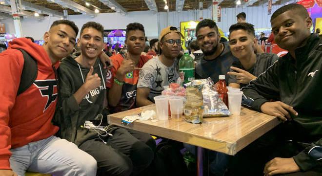 Emerson Barbosa, Nicolas Oliveira, Rodrigo Martins, Bruno Santos, Rhuan Fernandes, Guilherme Alves e Liam Nepomuceno
