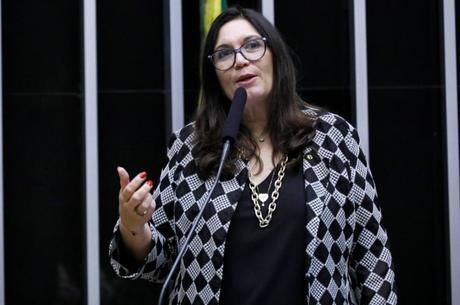 Deputada Bia Kicis (PSL - DF) na Câmara dos Deputados