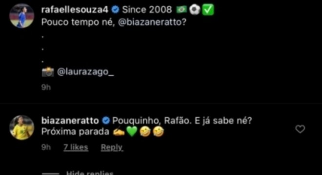Bia Zaneratto Rafaella Souza Instagram