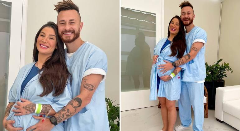 Bianca Andrade e Fred estão à espera do primeiro filho, Cris