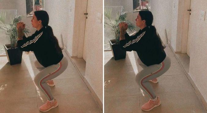 Boca Rosa compartilhou rotina de treinos com 38 semanas de gestação