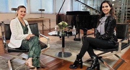 """Bianca Rinaldi e Daniela Albuquerque no """"Sensacional"""""""