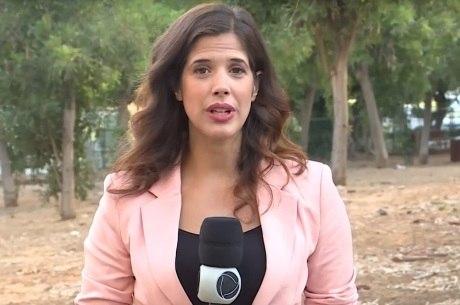 Bianca Zanini é a nova correspondente da Record TV em Israel