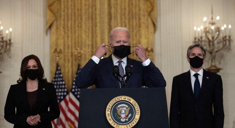 Biden fez seu segundo pronunciamento sobre a crise no Afeganistão