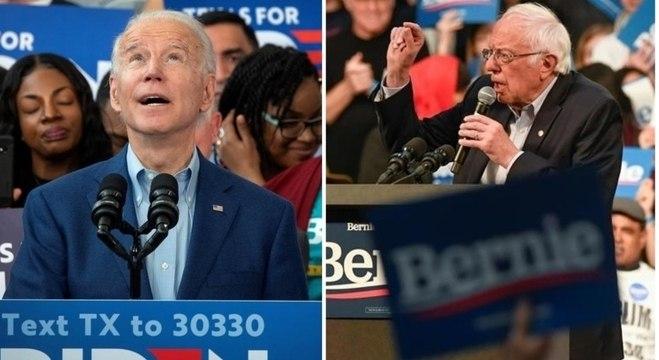 Biden fez comício no Texas e Bernie apostou em Minnesota: definição na Superterça