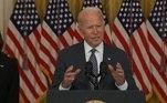 Joe Biden fala sobre a questão do Afeganistão