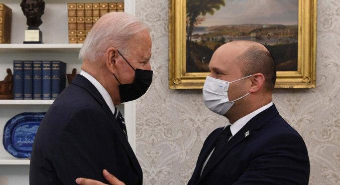 Biden recebeu Bennett no dia seguinte ao atentado em Cabul