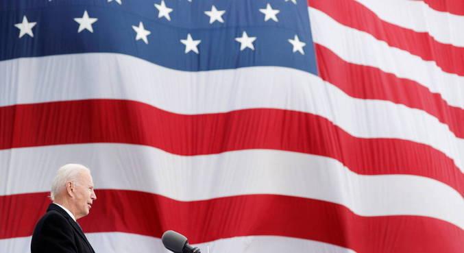 Primeiro discurso de Biden falará sobre unir país