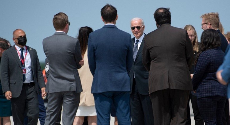 Joe Biden e Vladimir Putin se encontram em Genebra, na Suíça