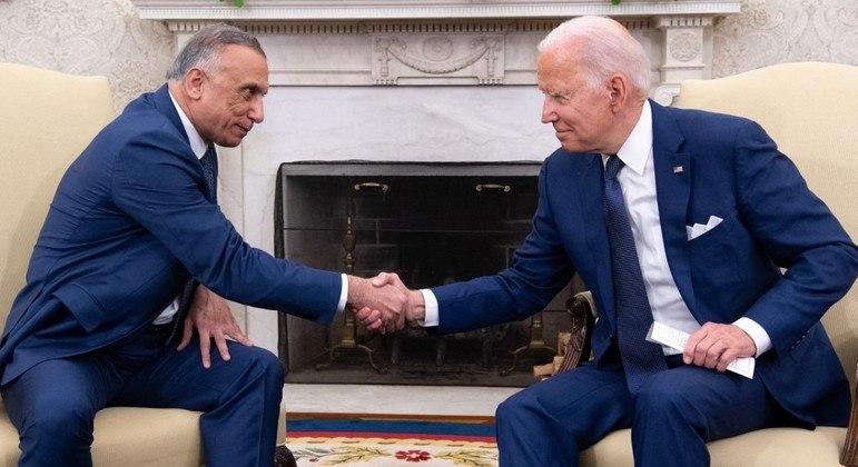 Biden anuncia retirada das tropas dos EUA no Iraque até o final do ano