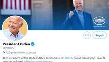 Contas oficiais do governo dos EUA no Twitter passam para Biden
