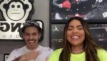 Tays Reis faz dancinha com Biel para celebrar sucesso de música