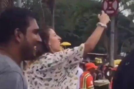 Alegria de Bifão foi questionada nas redes sociais