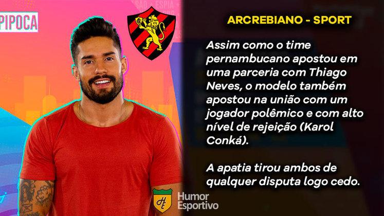 Big Brother Brasil e Brasileirão: Arcrebiano, o Bil, seria o Sport