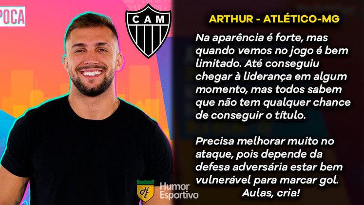 Big Brother Brasil e Brasileirão: Arthur seria o Atlético-MG