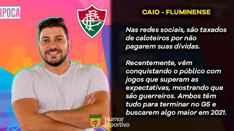 Big Brother Brasil e Brasileirão: Caio seria o Fluminense