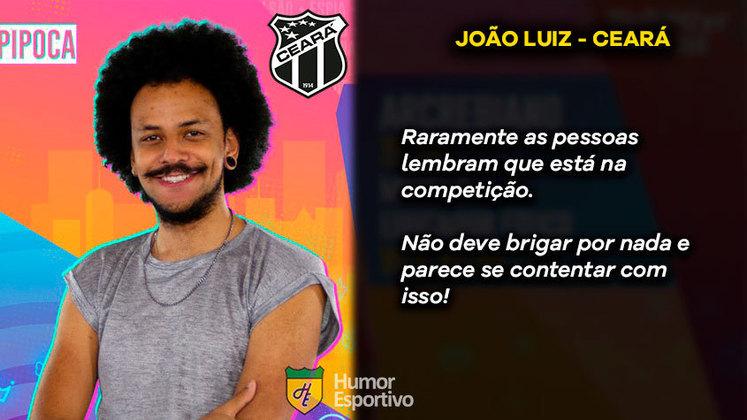 Big Brother Brasil e Brasileirão: João seria o Ceará