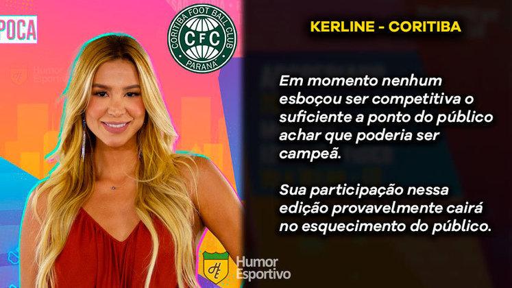 Big Brother Brasil e Brasileirão: Kerline seria o Coritiba