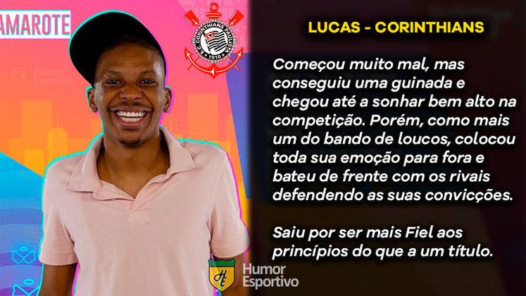 Big Brother Brasil e Brasileirão: Lucas Penteado seria o Corinthians
