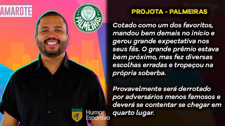 Big Brother Brasil e Brasileirão: Projota seria o Palmeiras