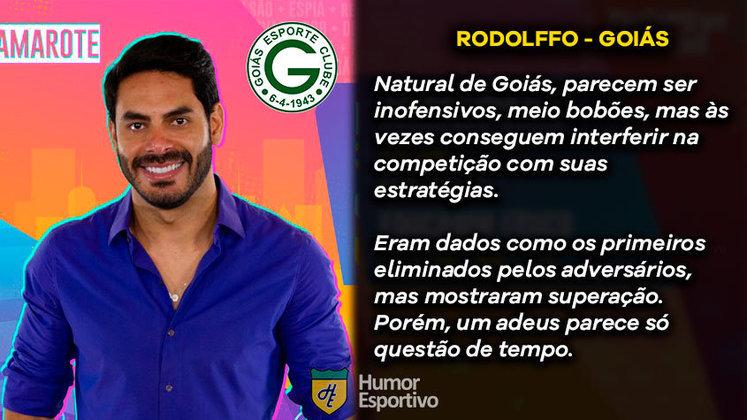 Big Brother Brasil e Brasileirão: Rodolffo seria o Goiás