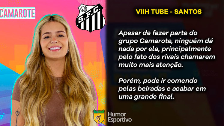 Big Brother Brasil e Brasileirão: Viih Tube seria o Santos