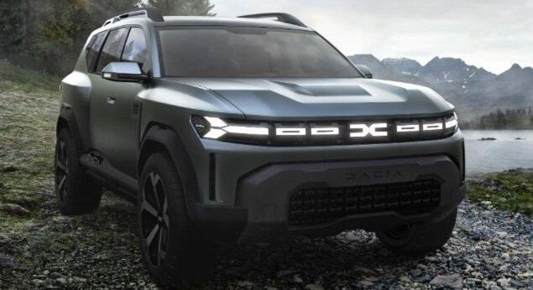 SUV Bigster é um dos próximos modelos aguardados da marca