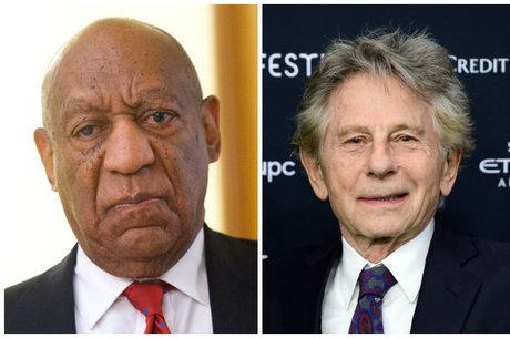Bill Cosby e Roman Polanski foram expulsos