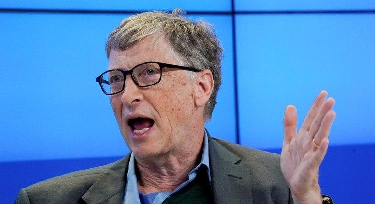 Fundador da Microsoft, Bill Gates