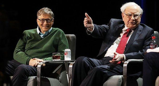 Gates e Buffett acumulam mais de 25 anos de amizade