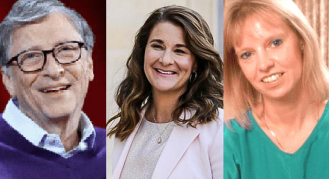 Bill, Melinda Gates e a ex-namorada dele, Ann