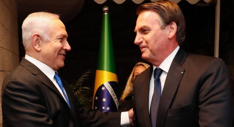 Aliado do primeiro-ministro israelense, Benjamin Netanyahu, Bolsonaro prestou condolências às famílias das vítimas