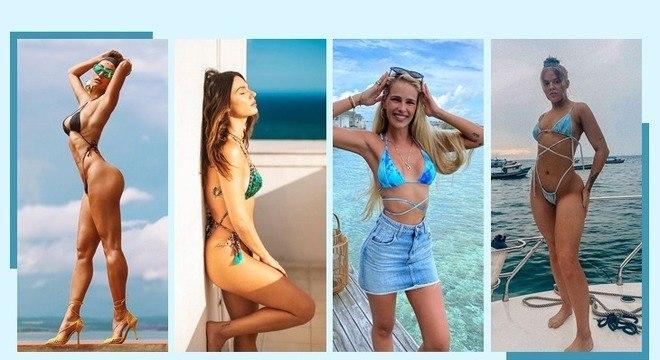 Biquíni das famosas: conheça 3 tendências que estão bombando no verão