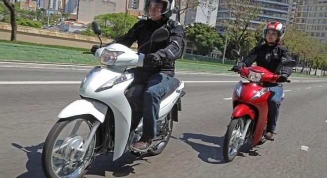 Não houve mudança mecânica ou visual na linha 2020 da Honda Biz