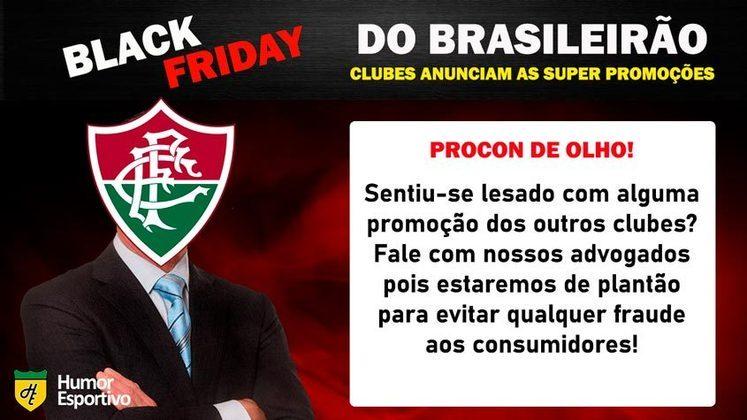 Black Friday: a participação do Fluminense
