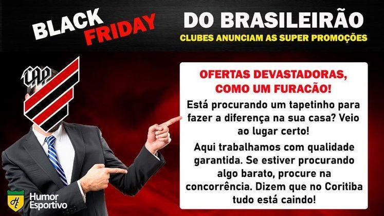 Black Friday: a promoção do Athletico-PR